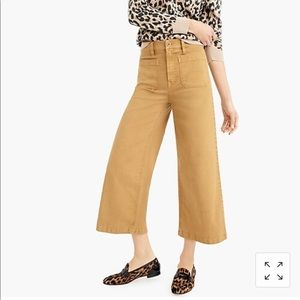 New J crew Tall Point Sur washed wide-leg pant 27